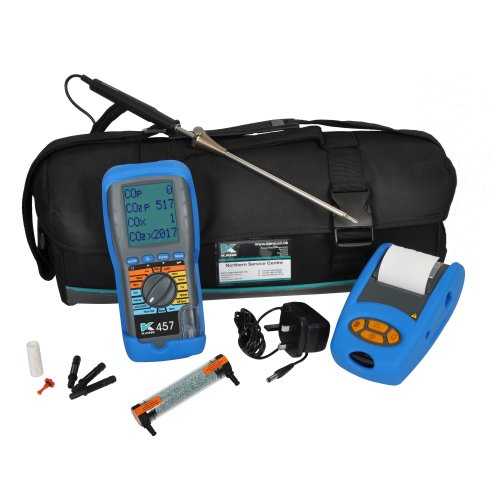 Kane 457 Flue gas and atmosphere analyser | JMW Limited | 500 x 500 jpeg 32kB