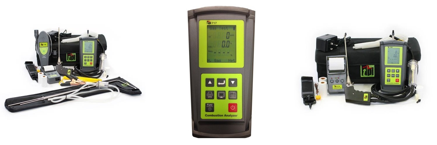 TPI flue gas analysers