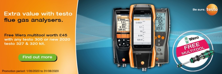 Testo 327-1 flue gas analyser